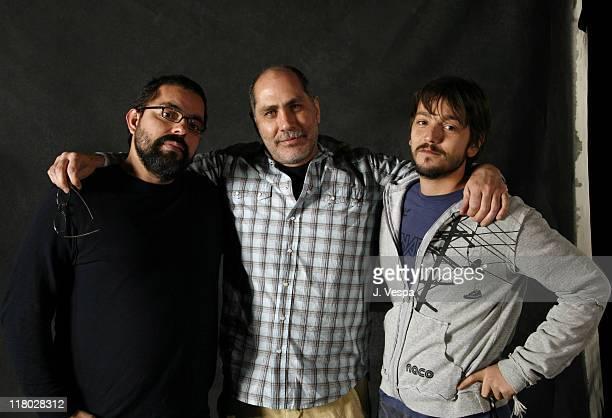 Jorge Hernandez Aldana director Guillermo Arriaga writer/producer and Diego Luna
