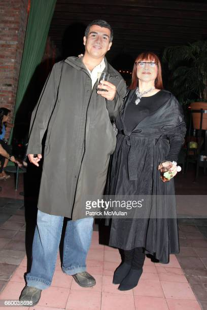 Jorge Jaramillo and Shelly Bromfield attend House of Lavande Hosts the Nest Foundation Gala at Bowery Hotel on May 1 2009 in New York City