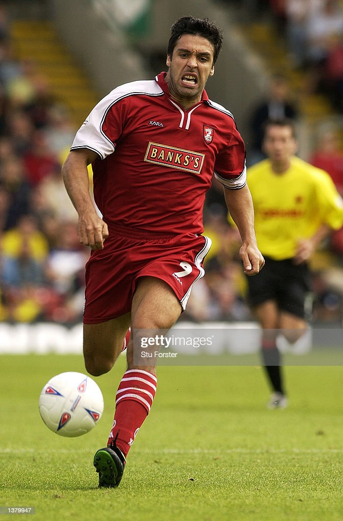 Jorge Leitao of Walsall during the Nationwide League Division One match between Watford and Walsall at Vicarage Road in Watford, England on September 7, 2002.