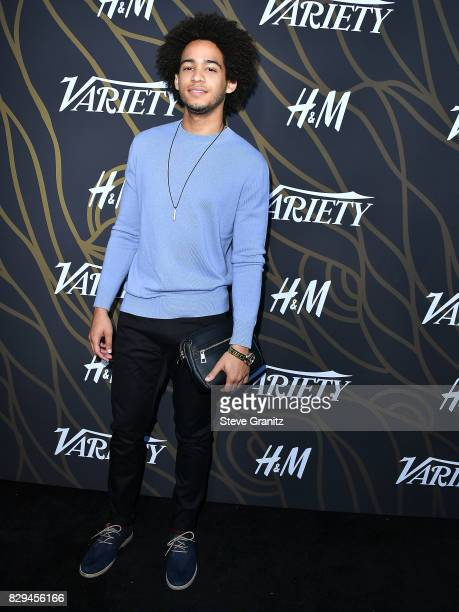 Jorge Lendeborg Jr arrives at the Variety Power Of Young Hollywood at TAO Hollywood on August 8 2017 in Los Angeles California