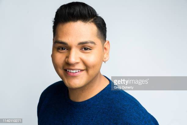 Jorge Leon attends the Kids Against Animal Cruelty visit to TAP The Artists Project on April 28 2019 in Los Angeles California