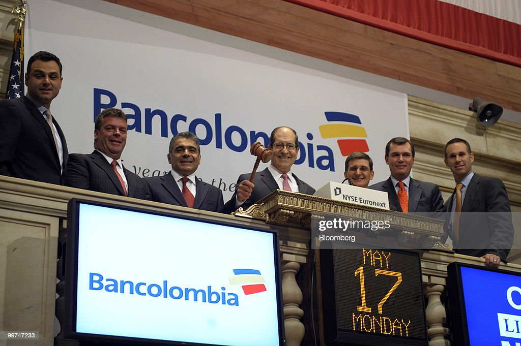 Colombia's Largest Lender Bancolombia SA CEO Jorge Londono Saldarriaga : News Photo