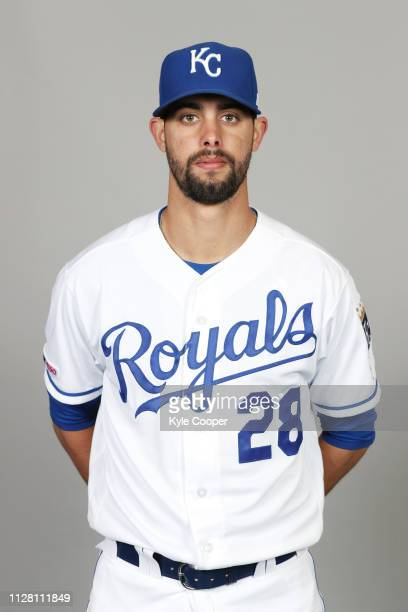 Jorge Lopez of the Kansas City Royals poses during Photo Day on Thursday February 21 2019 at Surprise Stadium in Surprise Arizona