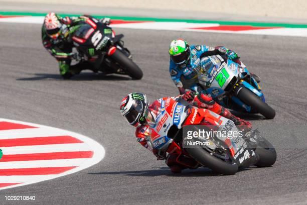 Jorge Lorenzo of Ducati Team during the qualifying of the OCTO Grand Prix of San Marino e della Riviera di Rimini at Misano World Circuit Marco...