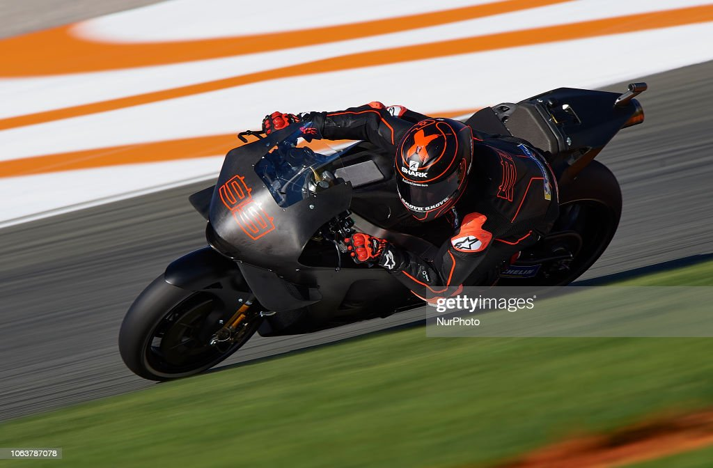 Jorge Lorenzo Of Spain And Repsol Honda Team During The Test Of The