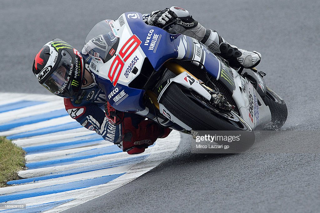 Motogp of japan qualifying photos and images getty images jorge lorenzo of spain and yamaha factory racing rounds the bend during the motogp of japan voltagebd Images