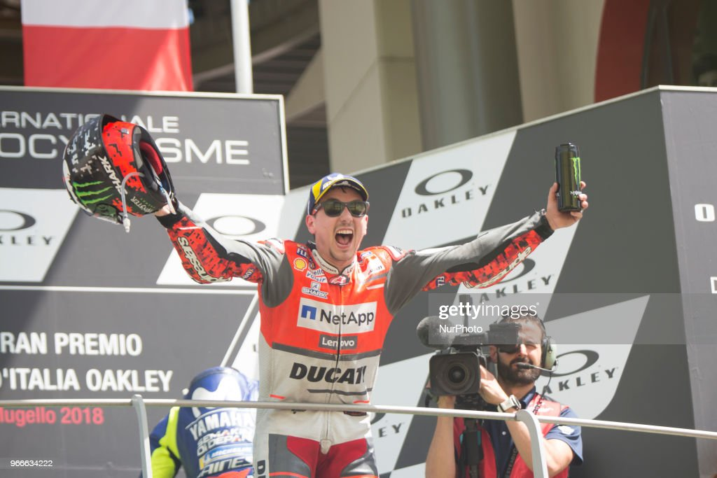 MotoGp Of Italy - Podium winners : News Photo
