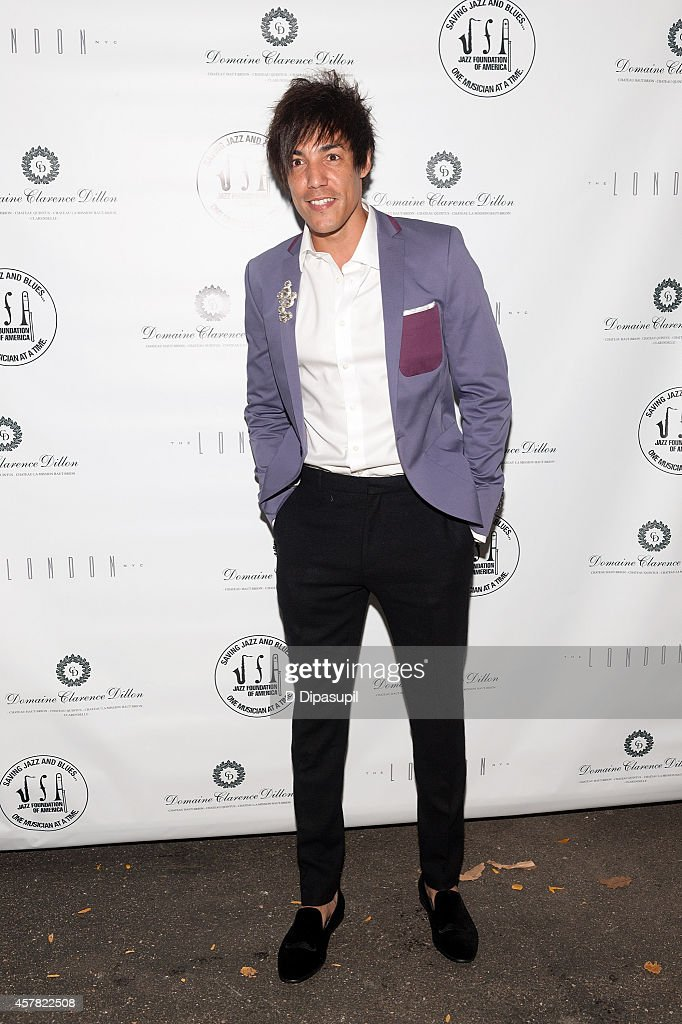 Jorge Luis Pacheco attends The Jazz Foundation Of America's 13th Annual 'A Great Night In Harlem' Gala Concert at The Apollo Theater on October 24, 2014 in New York City.
