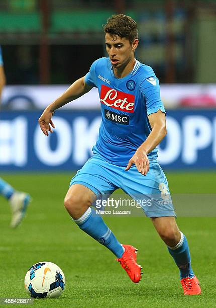 Jorge Luiz Frello of SSC Napoli in action during the Serie A match between FC Internazionale Milano and SSC Napoli at San Siro Stadium on April 26...