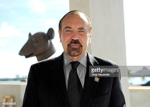 Jorge M Perez attends the official ribbon cutting for the opening of the Perez Art Museum at PAMM Art Museum on December 4 2013 in Miami Florida