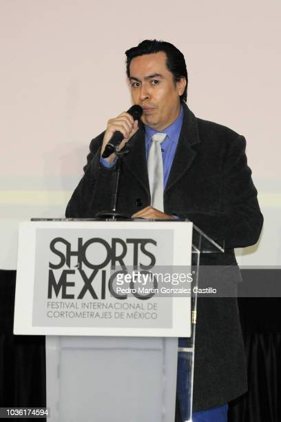 Jorge Magaña during the closing night of the Shorts Mexico Mexico's International Short Film Festival at Cineteca Nacional on September 12 2018 in...