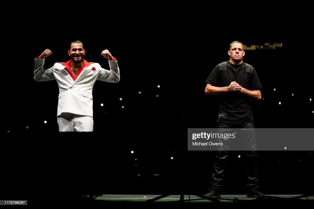 UFC 244 Masividal v Diaz Press Conference : News Photo