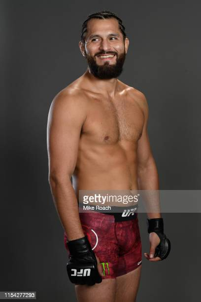 Jorge Masvidal poses for a portrait during the UFC 239 event at TMobile Arena on July 6 2019 in Las Vegas Nevada