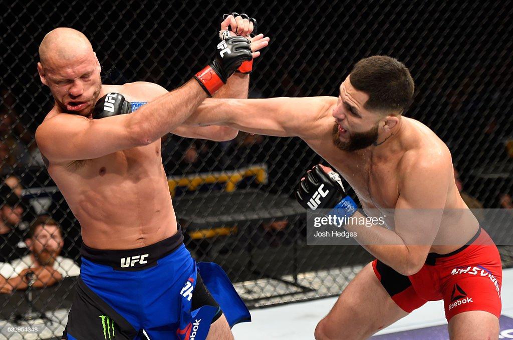 UFC Fight Night: Cerrone v Masvidal : News Photo