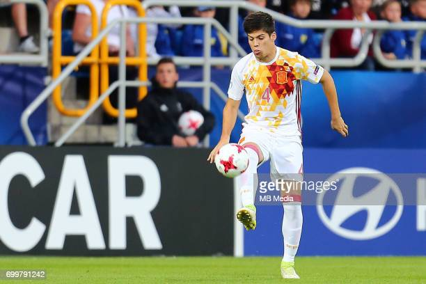 Jorge Mere during the UEFA European Under21 match between Portugal and Spain on June 20 2017 in Gdynia Poland