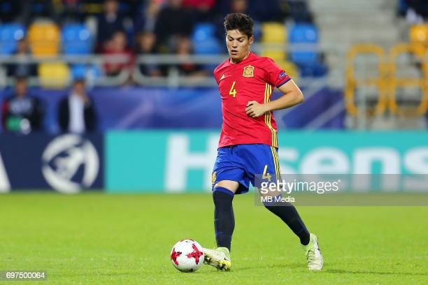 Jorge Mere during the UEFA European Under21 match between Spain and FYR Macedonia on June 17 2017 in Gdynia Poland