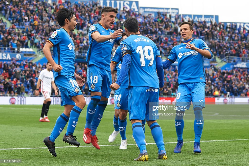 Getafe CF v Sevilla FC - La Liga : News Photo