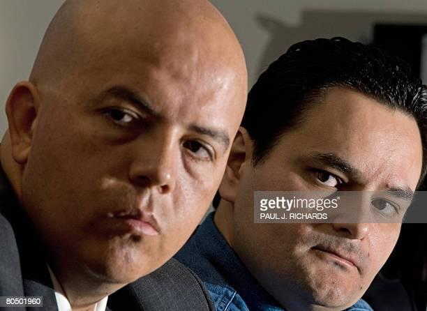 Jorge Morales Borbon , Assistant Editor, La Cronica and Frontera , Periodicos Healy; and Cesar Rene Blanco Villalon, Co-Editor of the weekly Zeta ,...