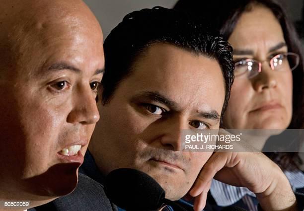 Jorge Morales Borbon , Assistant Editor, La Cronica and Frontera , Periodicos Healy; Cesar Rene Blanco Villalon, Co-Editor of the weekly Zeta; and...