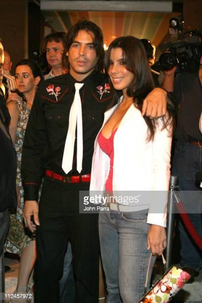 Jorge Moreno and Mayte Ontivero during Ocean Drive en Espanol 3rd Anniversary Celebration at Amik Loft & Lounge in Miami Beach, Florida, United...