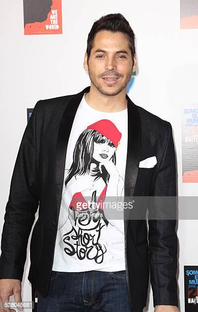 Jorge Moreno arrives at recording of Somos El Mundo - We Are The World by Latin recording artits at American Airlines Arena on February 19, 2010 in...