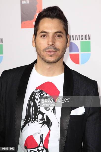 """Jorge Moreno arrives at recording of """"Somos El Mundo"""" - """"We Are The World"""" by Latin recording artits at American Airlines Arena on February 19, 2010..."""