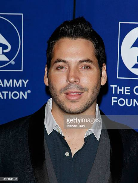 """Jorge Moreno arrives to The GRAMMY Foundation Music Preservation Project Presents """"Cue The Music"""" held at The Wilshire Ebell Theatre on January 28,..."""