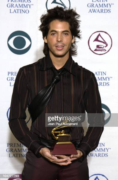 Jorge Moreno during 3rd Annual Latin GRAMMY Awards - Press Room at Kodak Theatre in Hollywood, California, United States.