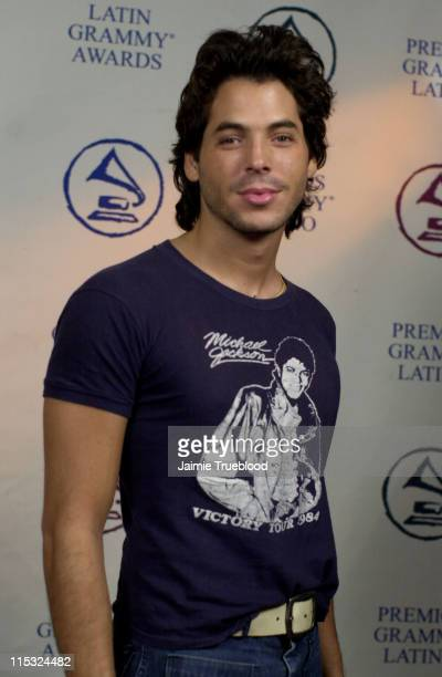 Jorge Moreno during 3rd Annual Latin GRAMMY Awards Web Central Day 2 at The Kodak Theatre in Hollywood California United States