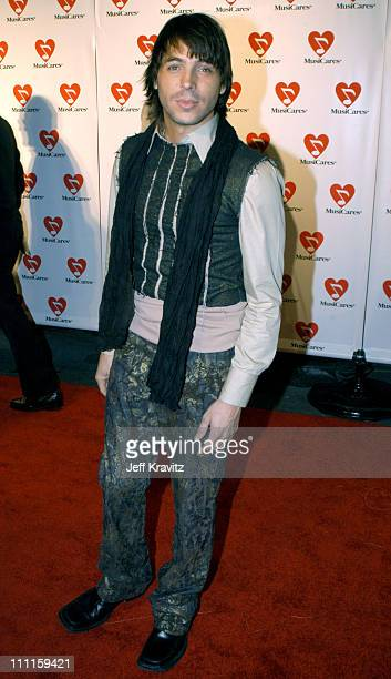 Jorge Moreno during The 45th GRAMMY Awards - MusiCares 2003 Person of the Year - Bono - Arrivals by Jeff Kravitz at Marriott Marquis in New York...