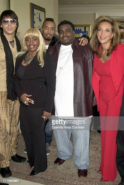 Jorge Moreno Janice Combs Dallas Austin Rodney Jerkins and Denise Rich