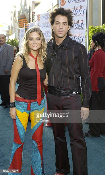 Jorge Moreno with Nicole during 3rd Annual Latin GRAMMY Awards - Arrivals at Kodak Theatre in Hollywood, California, United States.
