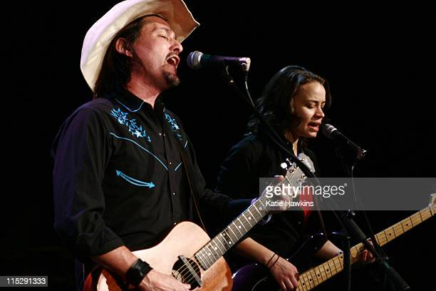 Jorge Navarro and Madelyn Burgess of Cuban Cowboys