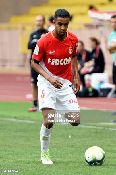 Jorge of Monaco during the friendly match between As Monaco and Nimes Olympique at Stade Louis II on August 31 2017 in Monaco Monaco