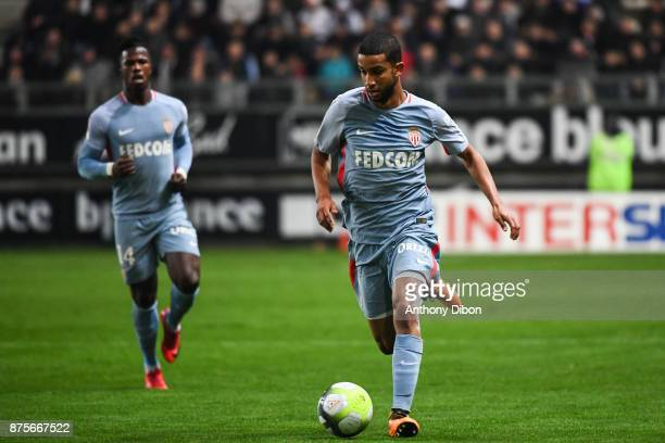Jorge of Monaco during the Ligue 1 match between Amiens SC and AS Monaco at Stade de la Licorne on November 17 2017 in Amiens