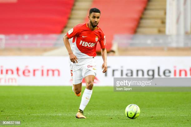 Jorge of Monaco during the Ligue 1 match between AS Monaco and Metz at Louis II Stadium on January 21 2018 in Monaco Monaco
