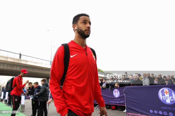 Jorge of Monaco during the Ligue 1 match between Toulouse and AS Monaco at Stadium Municipal on February 24 2018 in Toulouse