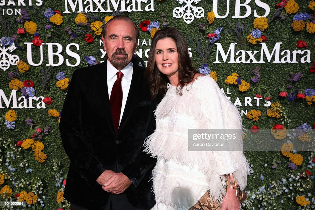Jorge Perez and Darlene Perez attend National YoungArts Foundation Backyard Ball Performance and Gala 2018 on January 13, 2018 in Miami, Florida.