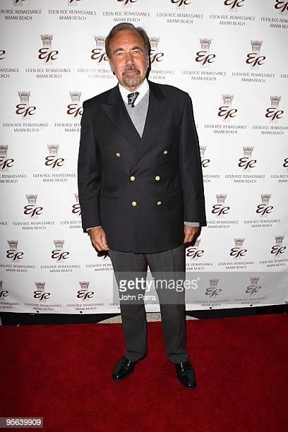 Jorge Perez attends a book release for Emilio Estefan's The Rhythm of Success at Eden Roc Renaissance Miami Beach on January 7 2010 in Miami Beach...