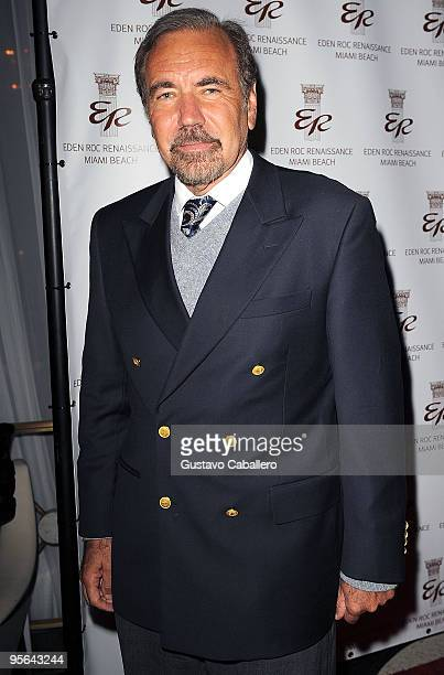 Jorge Perez attends book release party for Emilio Estefan's book The Rhythm of Success at Eden Roc Resort on January 7 2010 in Miami Beach Florida