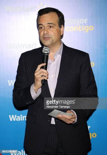 Jorge Plasencia is seen during Walmart's 'Mejor Contigo' event at COYA restaurant on April 5 2017 in Miami Florida