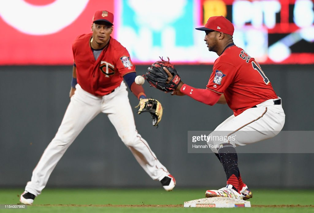Texas Rangers v Minnesota Twins : ニュース写真