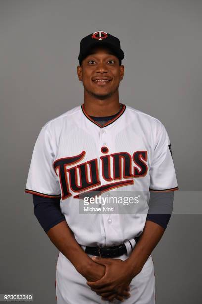 Jorge Polanco of the Minnesota Twins poses during Photo Day on Wednesday February 21 2018 at CenturyLink Sports Complex in Fort Myers Florida