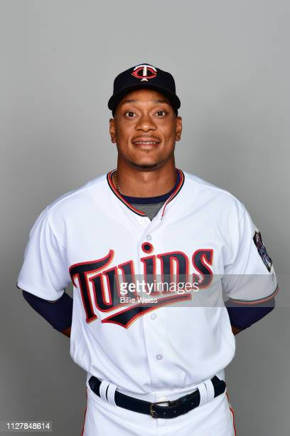 Jorge Polanco of the Minnesota Twins poses during Photo Day on Friday February 22 2019 at CenturyLink Sports Complex in Fort Myers Florida