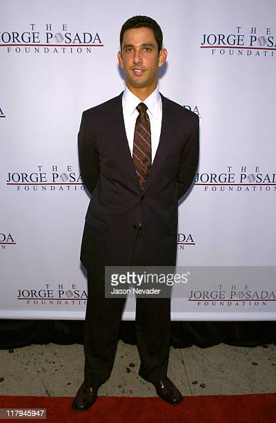 Jorge Posada during First Annual 'Heroes for Hope' Gala and Benefit at Capitale in New York City New York United States