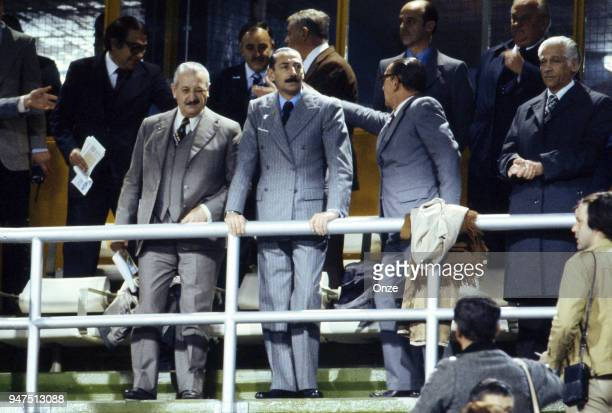 Jorge Rafael Videla President of Argentina during the World Cup match between Argentina and Peru in Buenos Aires Argentina on 21th June 1978