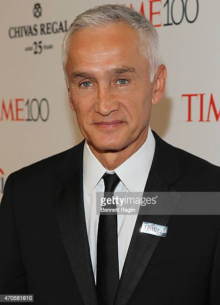 Jorge Ramos attends the TIME 100 Gala TIME's 100 Most Influential People In The World at Jazz at Lincoln Center on April 21 2015 in New York City