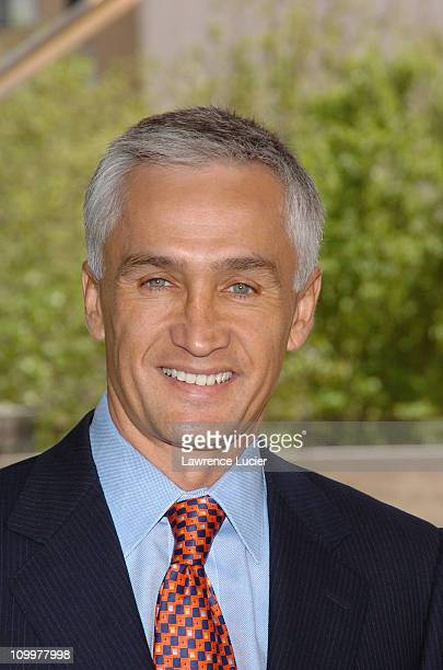 Jorge Ramos during 20052006 Univision Network Upfront at Lincoln Center in New York NY United States