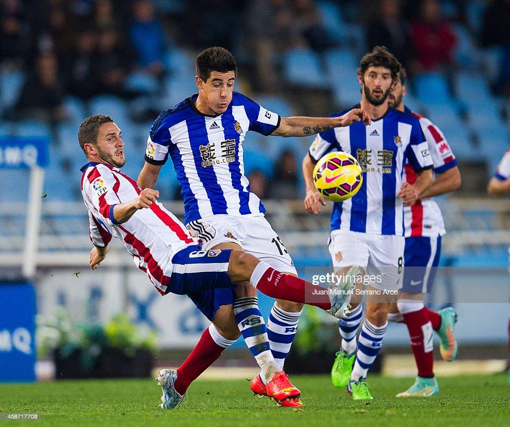 Real Sociedad de Futbol v Club Atletico de Madrid - La Liga : News Photo