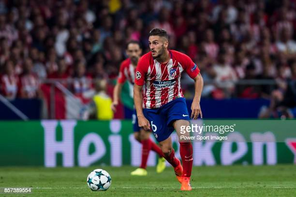 Jorge Resurreccion Merodio Koke of Atletico de Madrid in action during the UEFA Champions League 201718 match between Atletico de Madrid and Chelsea...